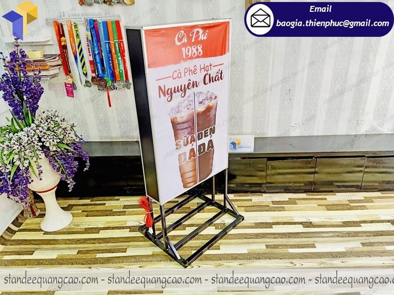 hộp đèn quảng cáo quán cafe giá rẻ
