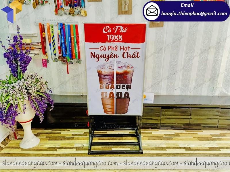 hộp đèn quảng cáo quán cafe