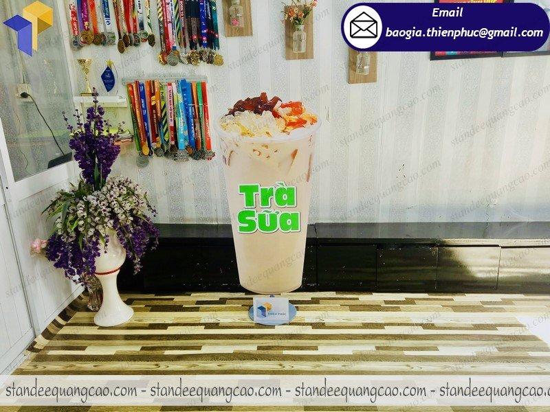 standee mô hình ly trà sữa