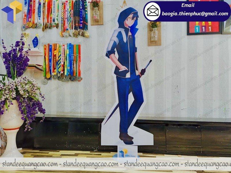 standee mô hình nhân vật hoạt hình